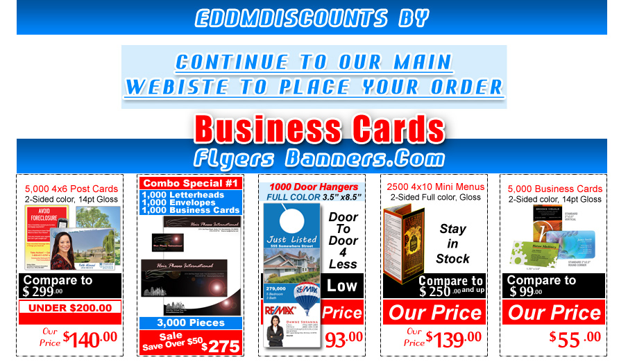 postcards for every door direct mail